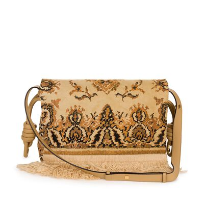 Bolso Flamenco Flap Tapestry