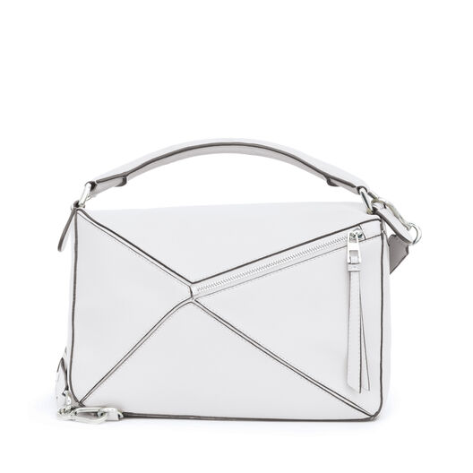 LOEWE Puzzle Bag Soft White all