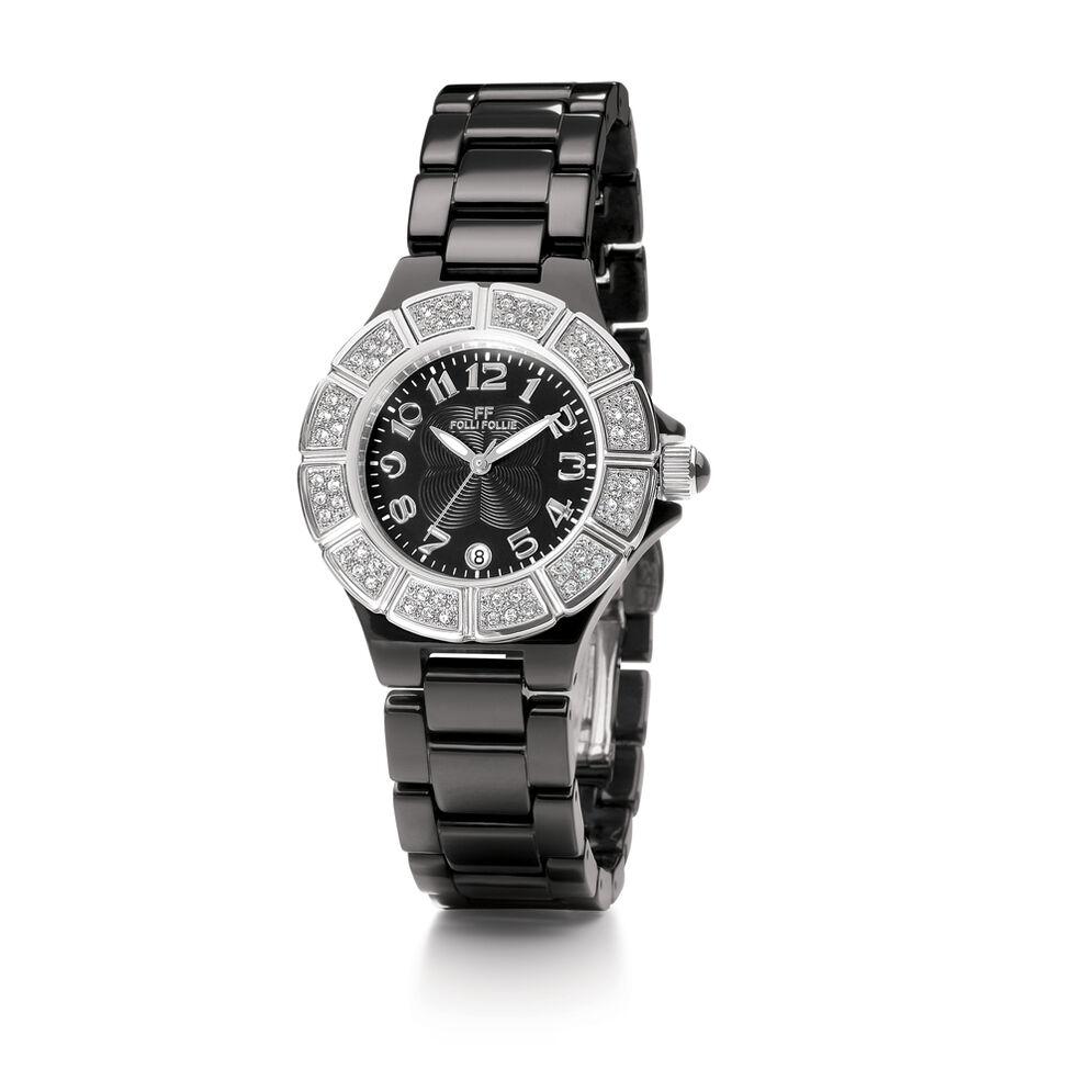 Dorian Ceramic Watch, Black, hires