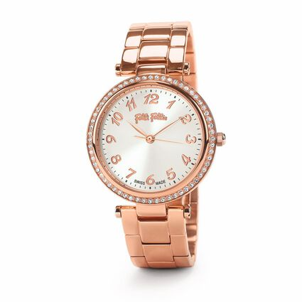 Classy Reflections Swisss Made Reloj, Bracelet Rose Gold, hires