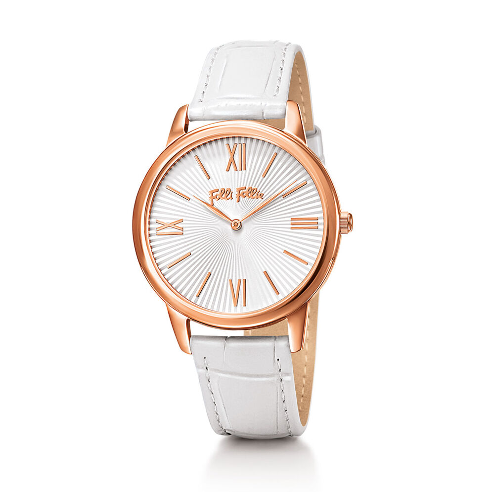 Match Point Watch, White, hires