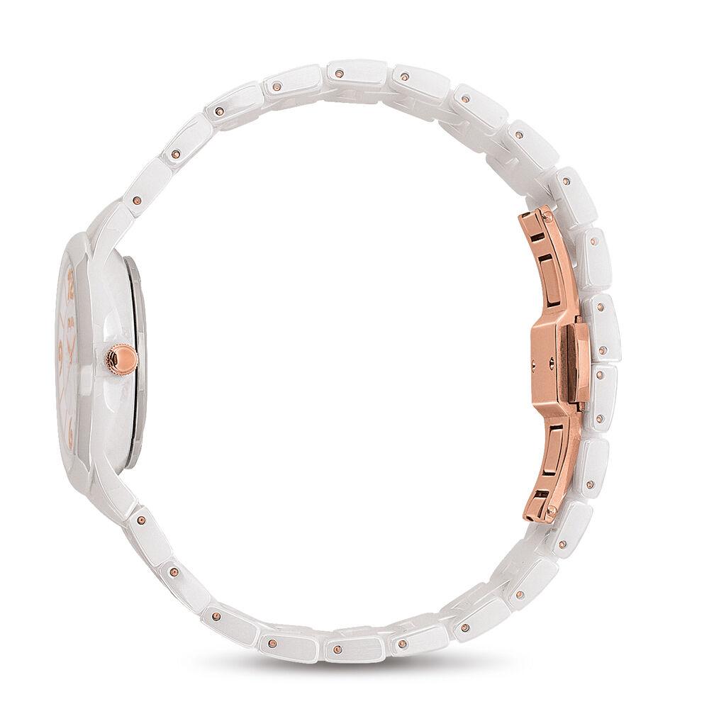 hires time to play reloj bracelet white hires