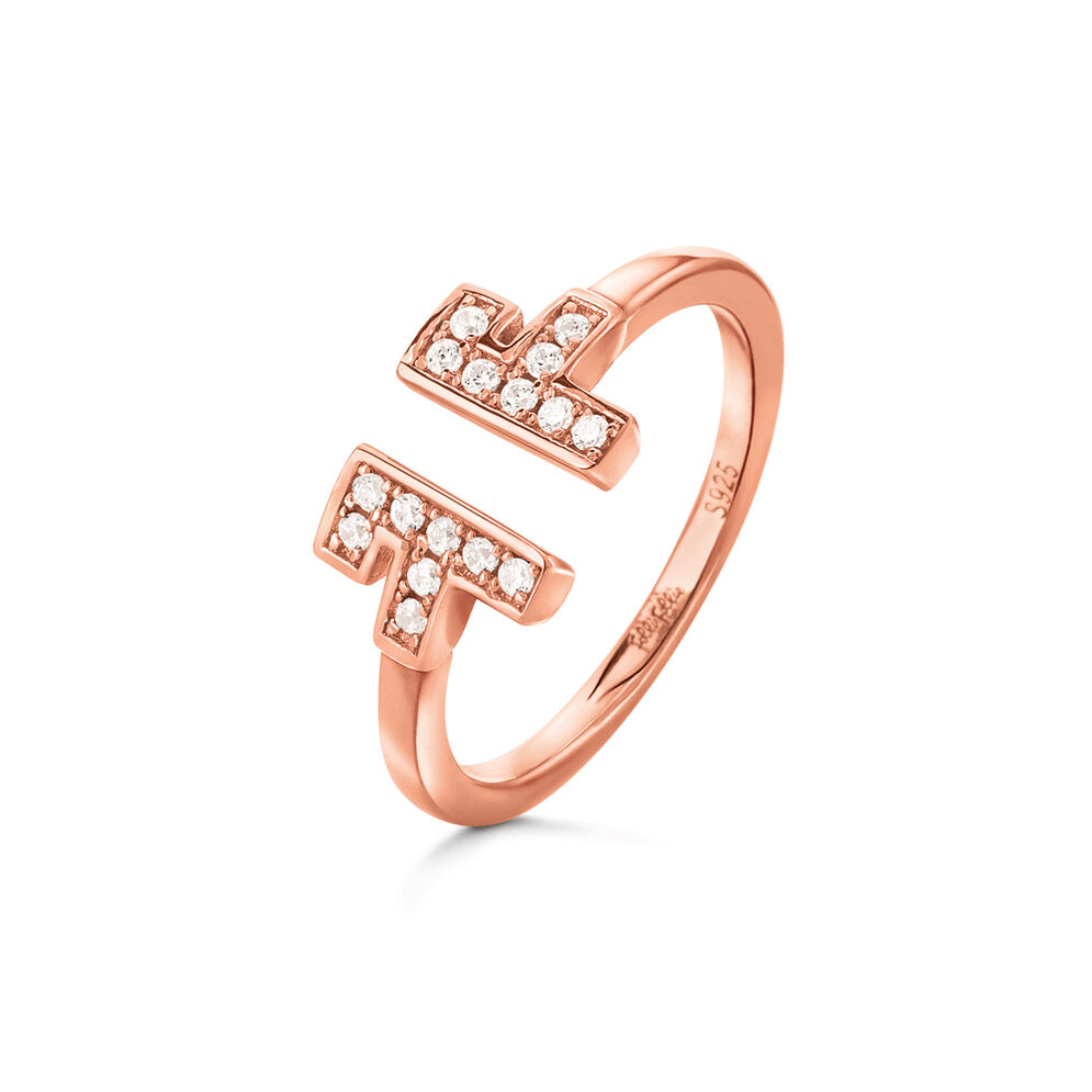 My FF Rose Gold Plated Ring, , hires
