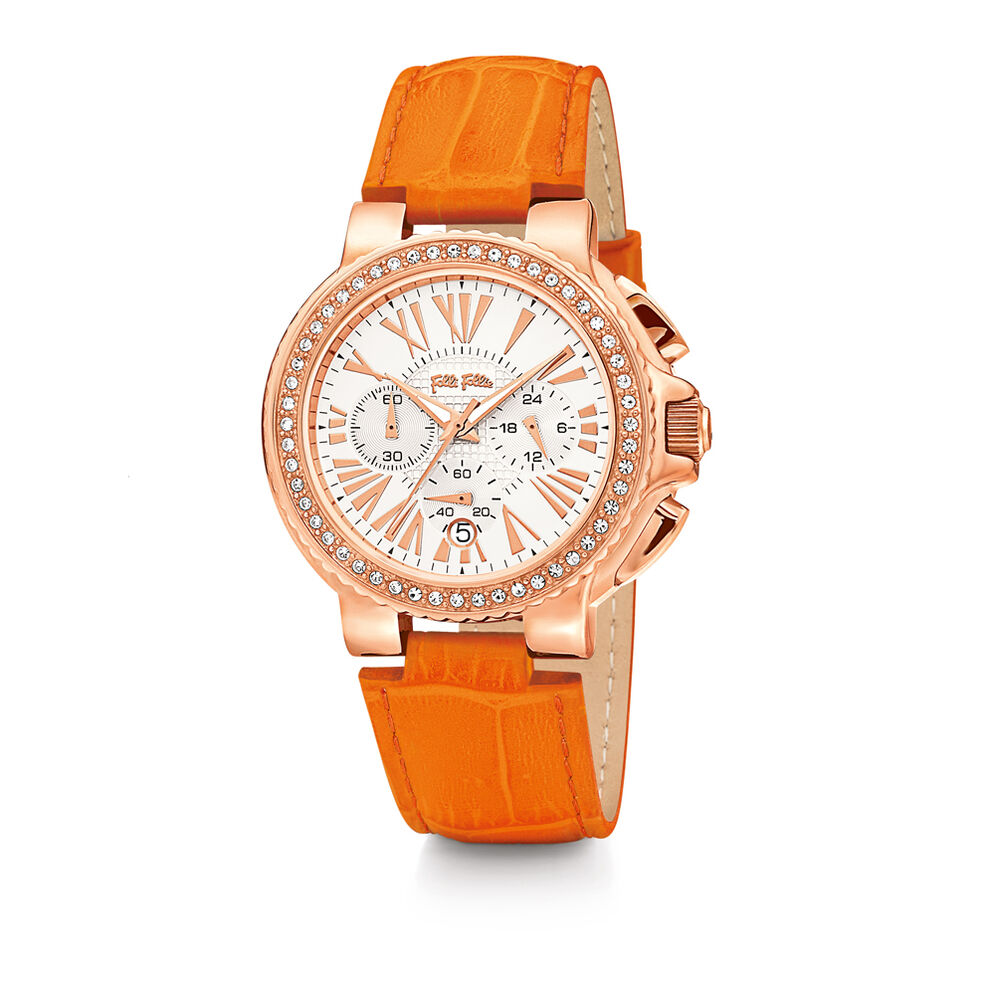 Watchalicious Watch, Orange, hires