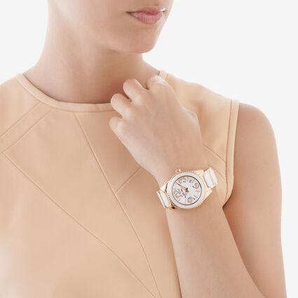 Ceramic 4 Seasons Watch, Bracelet White, hires
