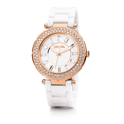 Beautime Watch, Bracelet White, hires
