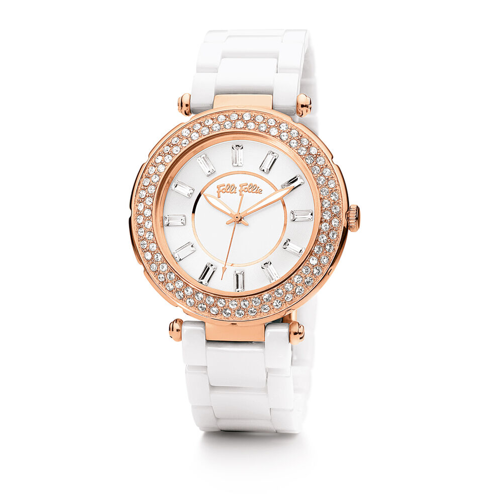 Beautime Watch, Bracelet White, hires