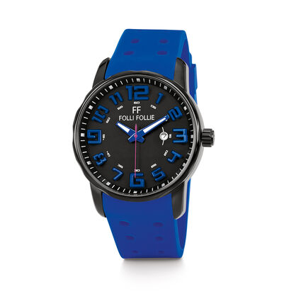 Sportime Watch, Blue, hires