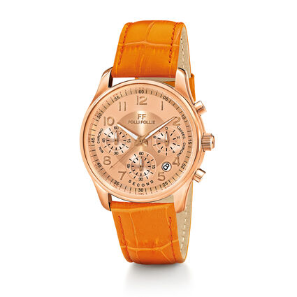 Timeless Watch, Orange, hires