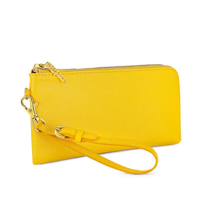FOLIAGE WALLET, Yellow, hires