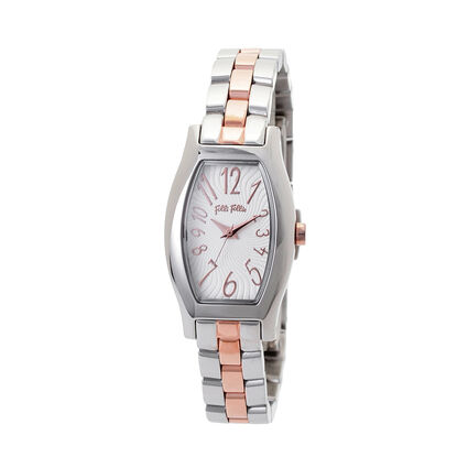 Debutant Small Case Bracelet Watch, Bracelet Silver, hires