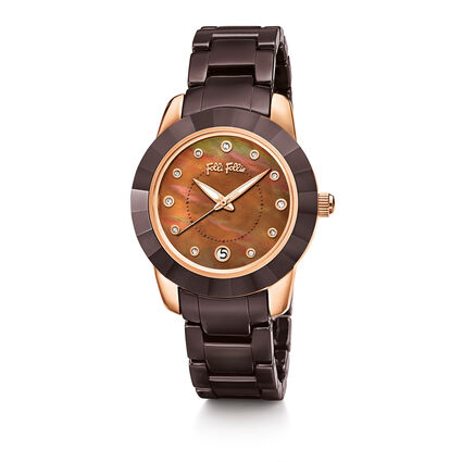 Prismatic Watch, Brown, hires