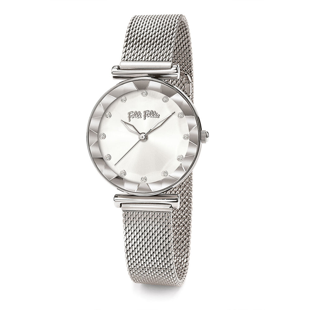 Star Flower Small Case Bracelet Watch, Bracelet Silver, hires