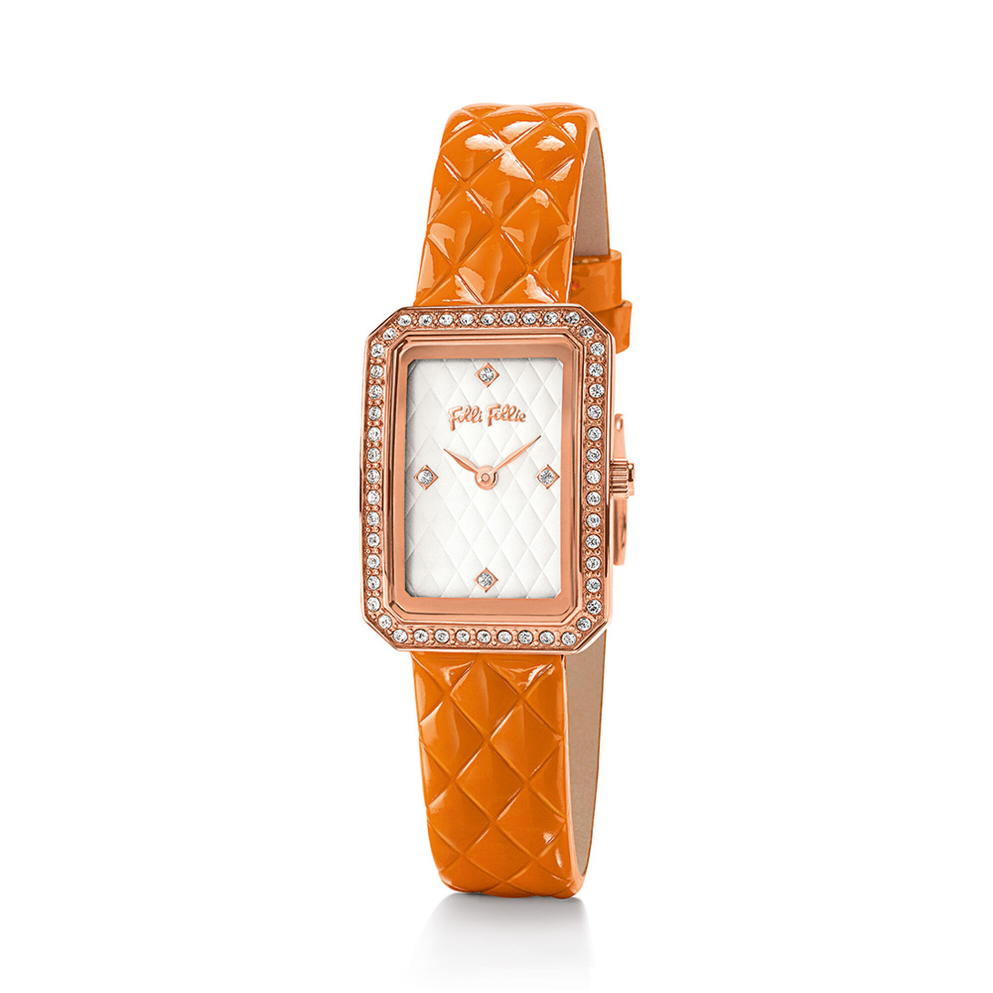 STYLE CODE WATCH Rose Gold Plated With Stones ...