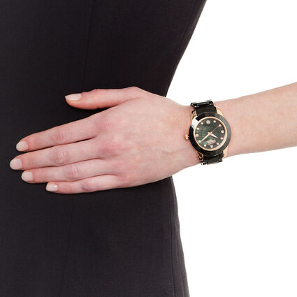 Prismatic Watch, Bracelet Black, hires