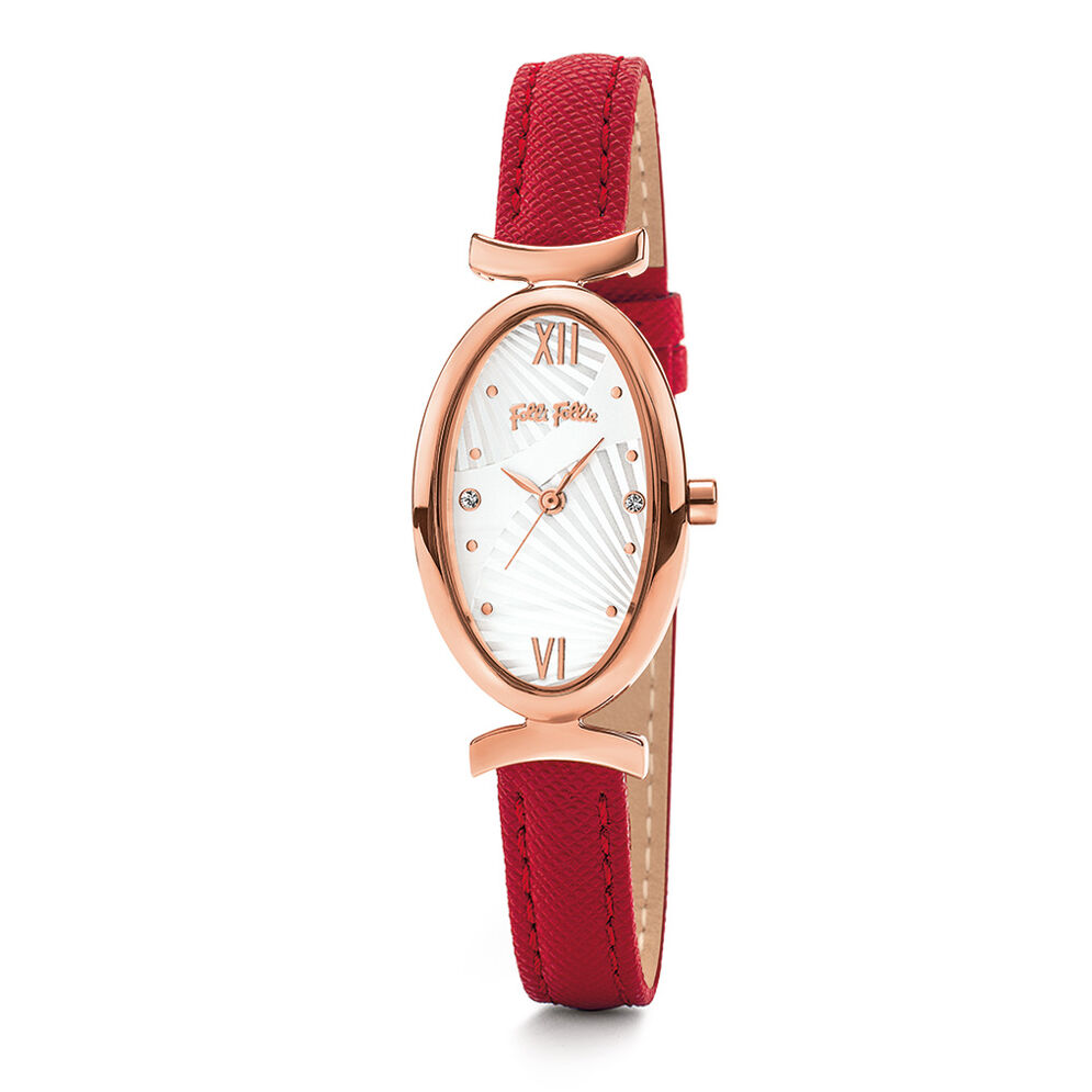 Lady Bloom Watch, Red, hires