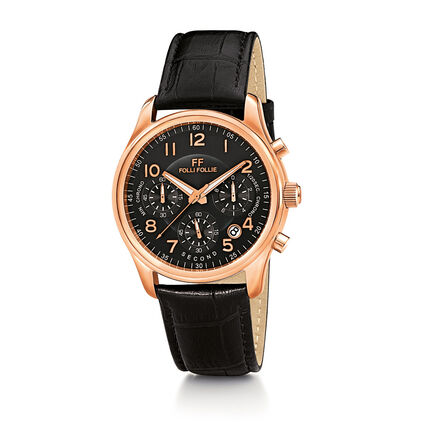 Timeless Watch, Black, hires