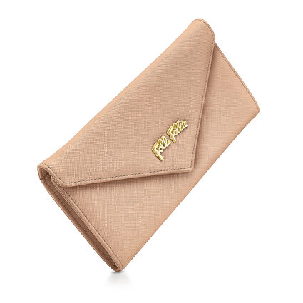 Folli Follie Foldable Cartera, Brown, hires