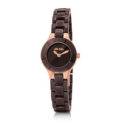 Miss FF Reloj, Bracelet Brown, hires