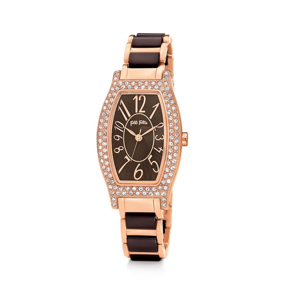 Debutant Watch, Bracelet Brown, hires