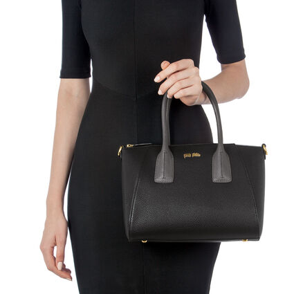 On The Go Small Handbag, Black, hires