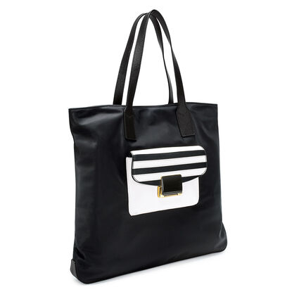 Club Riviera Shopping Bag , Black, hires