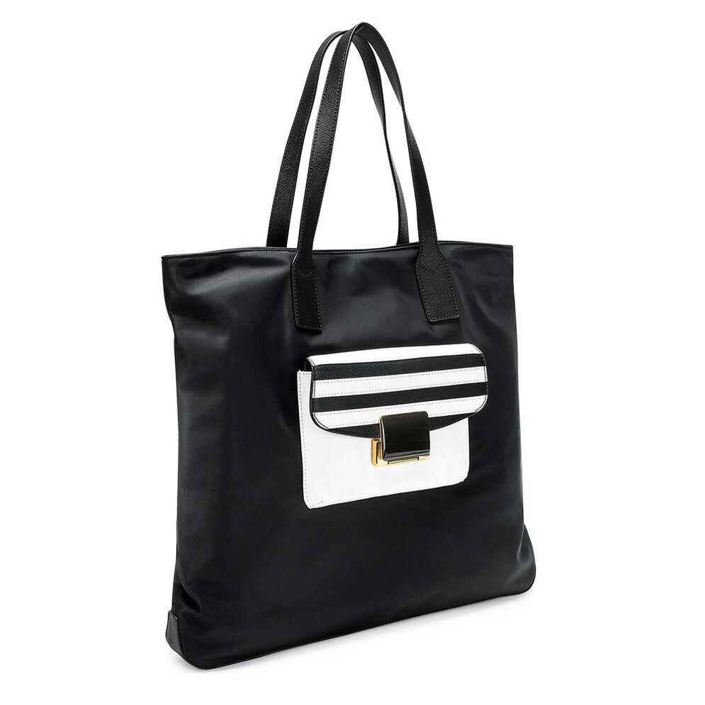 Club Riviera Shopping Τσάντα, Black, hires
