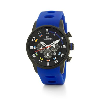 Regatta Big Case Rubber Watch, Blue, hires