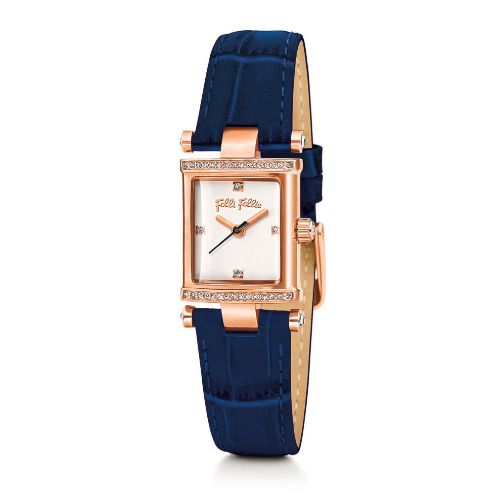 Square Logic Watch, Blue, hires