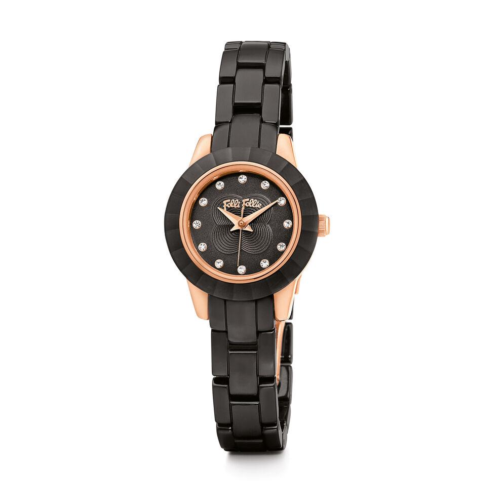 MINI GALA Watch, Bracelet Black, hires