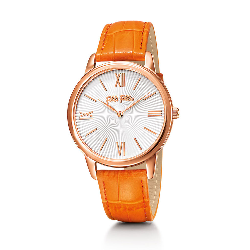 Match Point Watch, Orange, hires