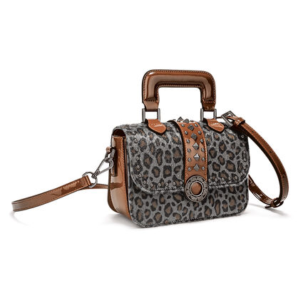 Rock Safari Mini Handbag, Gray, hires