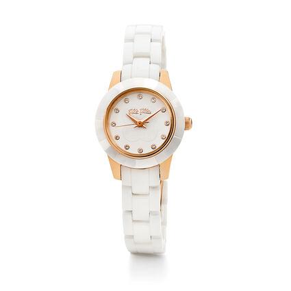 MINI GALA Watch, Bracelet White, hires