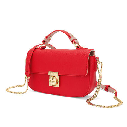 Heart4Heart Small Crossbody Bag , Red, hires