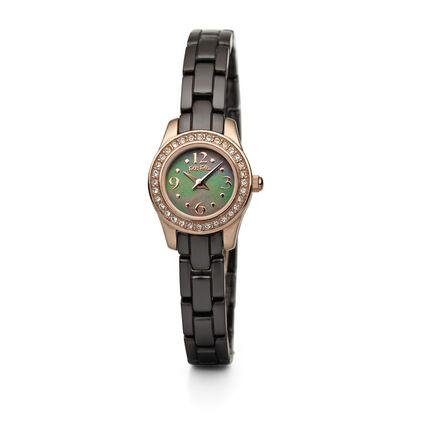 Mini Miss Watch, Bracelet Brown, hires