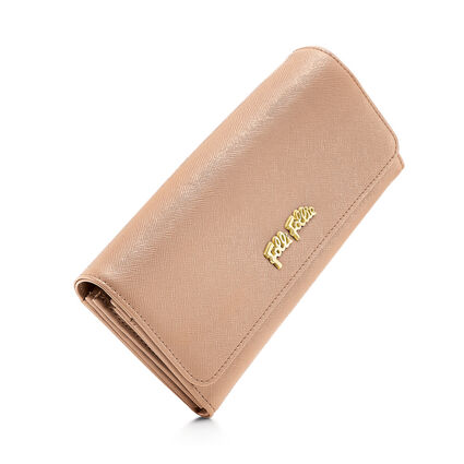 Folli Follie Foldable Wallet, Brown, hires