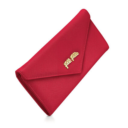 Folli Follie Foldable Cartera, Red, hires