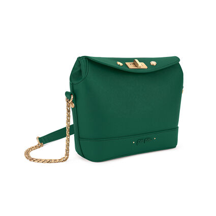 Mini Bolso de hombro Uptown Beauty, Green, hires