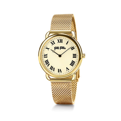 Perfect Match Medium Case Bracelet Watch, Bracelet Yellow Gold, hires