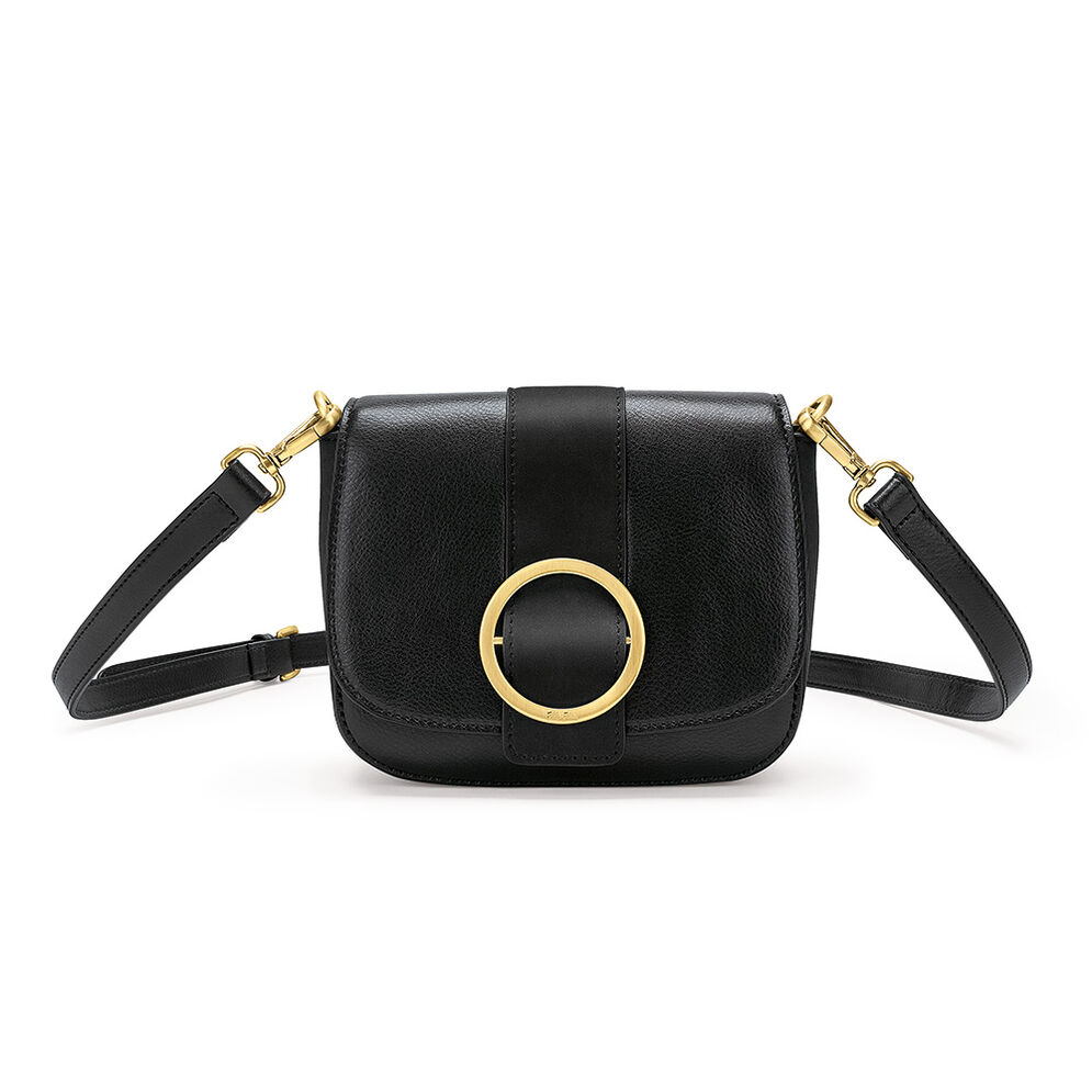 Cyclos Small Cross Body Bag, Black, hires