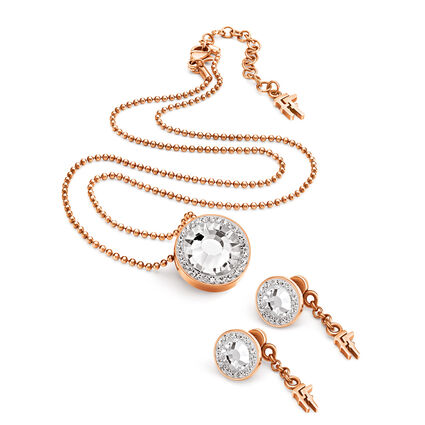 Classy Rose Gold Plated Set, , hires