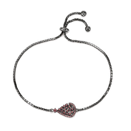 Sparkle Chic Black Plated Βραχιόλι, , hires