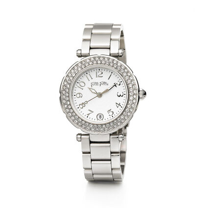 Beautime Small Case Bracelet Watch, Bracelet Silver, hires