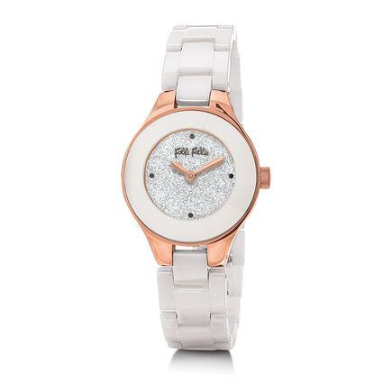 Miss FF Reloj, Bracelet White, hires
