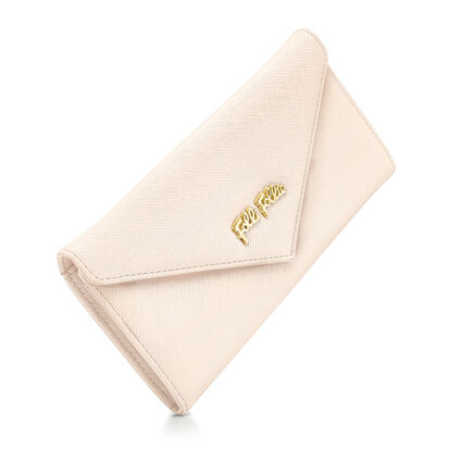 Folli Follie Foldable Wallet, Beige, hires