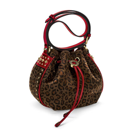 Rock Safari Small Bucket Shoulder Bag, Brown, hires