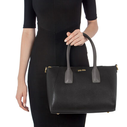 On The Go Medium Size Handbag, Black, hires