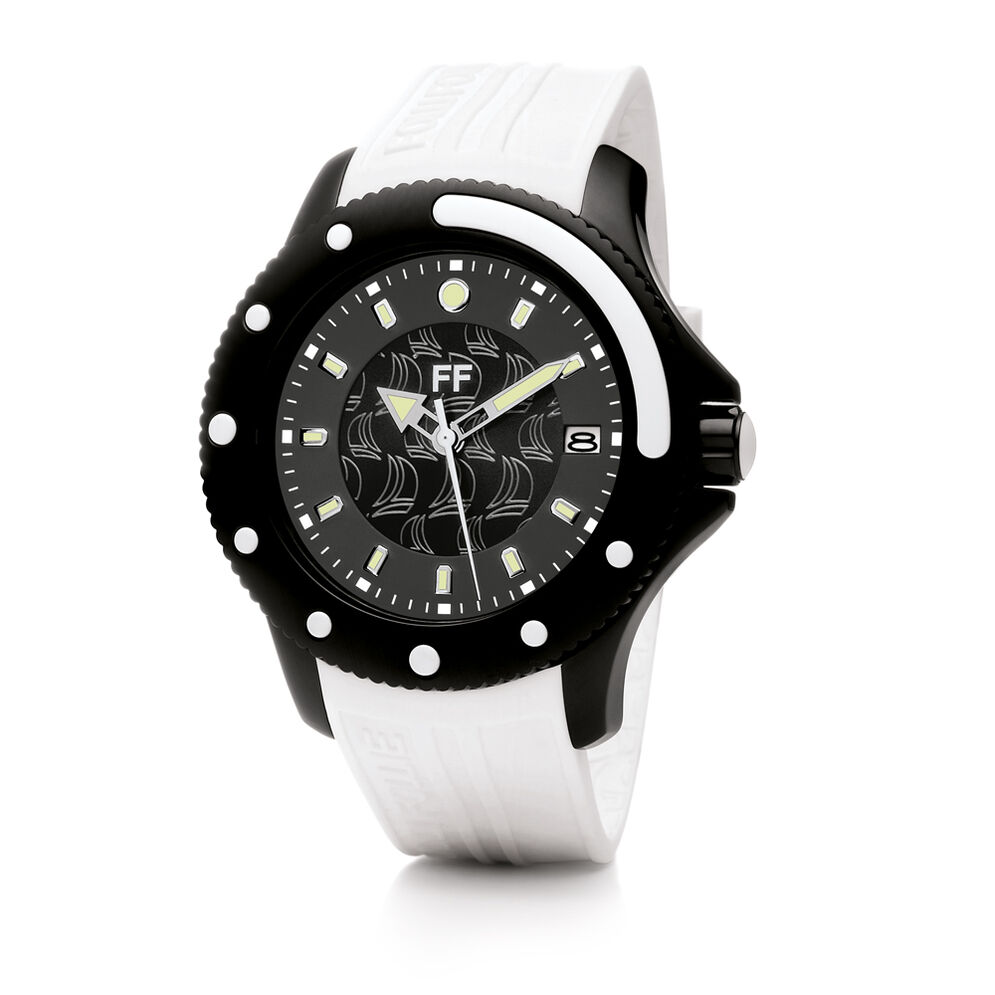 Water Champ Watch, White, hires