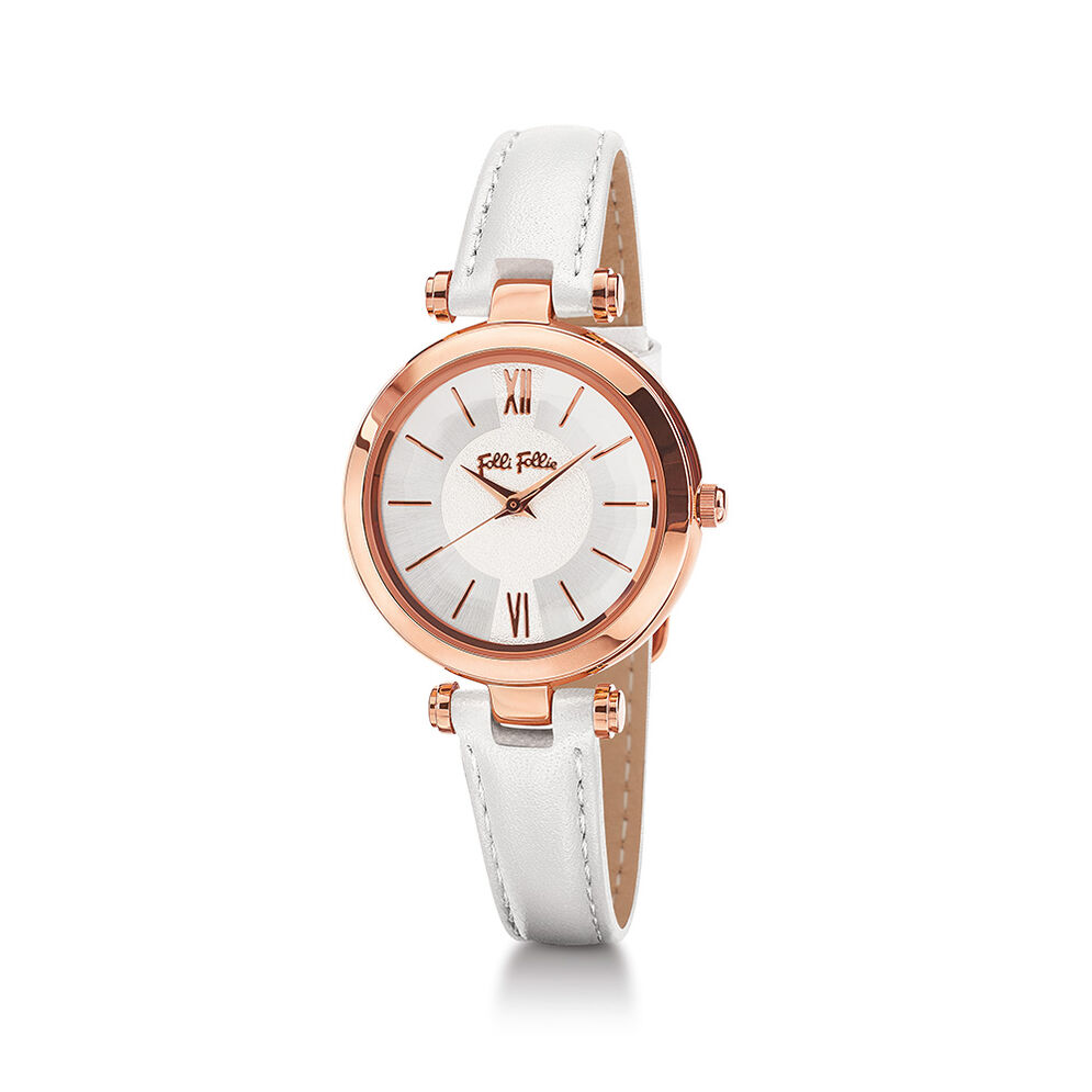 Lady Bubble Watch, White, hires