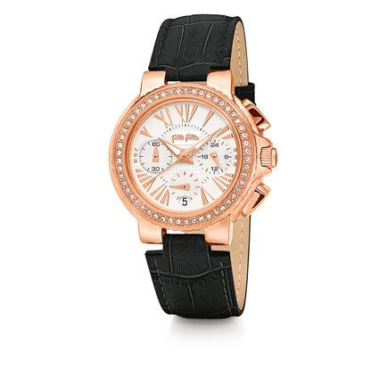 Watchalicious Reloj, Black, hires